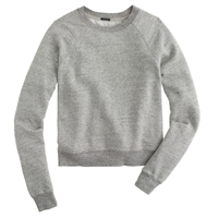 J.Crew Lightweight Cropped Sweatshirt
