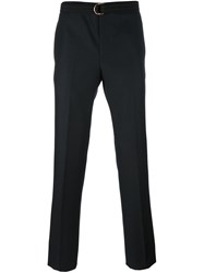 Givenchy Belted Tailored Trousers Black