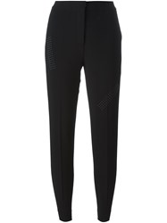 Christopher Kane Studded Detail Trousers Black