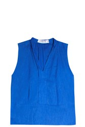 Victoria Beckham Denim Women S Denim Top Boutique1 Blue