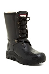 Hunter Pac Genuine Sheepskin Lined Boot Black