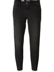 Current Elliott Cropped Jeans Black