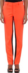 Opening Ceremony Moodie Inseam Stripe Trousers Red
