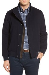 Brooks Brothers Men's Tristam Wind And Water Resistant Bomber Jacket