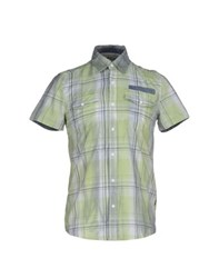Geox Shirts Shirts Men Light Green
