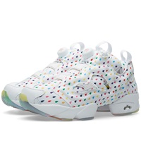 Reebok Instapump Fury Og White And Rainbow