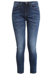 Opus Emily Slim Fit Jeans Deep Blue Dark Blue