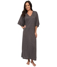 N By Natori Congo Caftan Heather Grey Women's Robe Gray