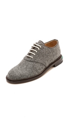 Band Of Outsiders Felted Saddle Shoes Grey