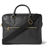 Mulberry Heathcliffe Full Grain Leather Briefcase Black