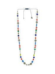 White Stuff Cheng Mixed Bead Mid Necklace