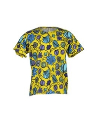 Aimo Richly T Shirts Yellow