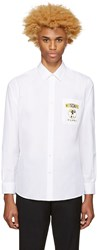 Moschino White Logo Shirt