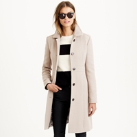 J.Crew Petite Double Cloth Lady Day Coat With Thinsulate