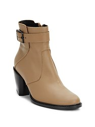 Helmut Lang Leather Buckle Boots Brittle