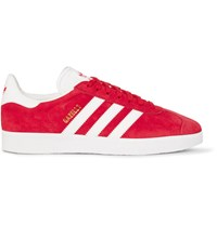 Adidas Originals Gazelle Suede Sneakers Red