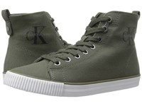 Calvin Klein Dolores Military Canvas Women's Shoes Olive