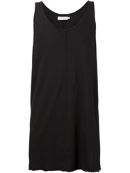 Knomadik By Daniel Patrick Loose Fit Tank Top Black