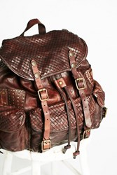 Campomaggi Womens Sorrento Leather Backpack