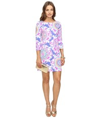 Lilly Pulitzer Bay Dress Multi Play That Trunky Music Women's Dress