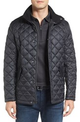 Cole Haan Men's Diamond Quilted Jacket Navy