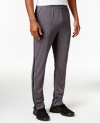Calvin Klein Men's Side Stripe Track Pants Med Gray
