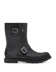 Hunter Original Rubber Biker Boots Black