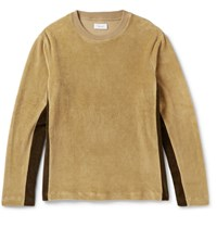 Fanmail Organic Cotton Velour Sweatshirt Sand