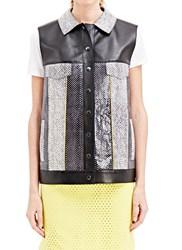 Gauchare Gauchere Leather Freda Vest Yellow