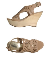 Belle By Sigerson Morrison Wedges Dove Grey