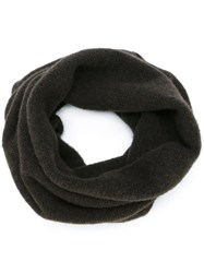 Isabel Benenato Neck Warmer Scarf Brown