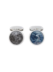 Paul Smith 'Sky' Cufflinks Metallic