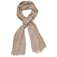 Chesca Metallic Printed Scarf Grey