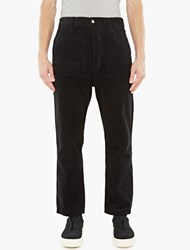 Ami Alexandre Mattiussi Black Relaxed Fit Cords