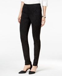 Styleandco. Style Co. Petite Stretch Ponte Leggings Only At Macy's Heather Crocodile