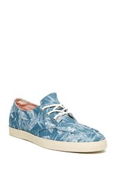 Reef Deckhand 2 Prints Lace Up Sneaker Blue