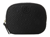 Tory Burch Ella Quilted Cosmetic Case Black Cosmetic Case