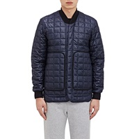 Tech Fabric Shirt Jacket Navy