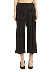 Preen Wool Balloon Pants Black
