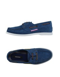 Dsquared2 Footwear Moccasins Men Pastel Blue
