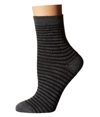 Richer Poorer Skimmer Ankle Wool Charcoal Black Women's Crew Cut Socks Shoes
