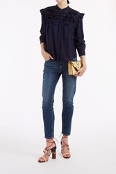 Sea Tassel Frill Shirt