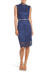 Ellen Tracy Women's Lace Midi Dress