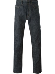 Lanvin Straight Leg Jeans Grey
