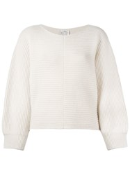 Forte Forte Chunky Cable Knit Jumper Nude And Neutrals