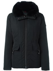 Peuterey Padded Flap Pockets Jacket Black