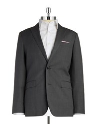 Brooks Brothers Two Button Wool Blazer Grey