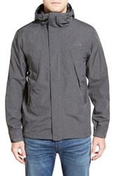 The North Face Men's 'Metro Mountain' Shell Jacket Tnf Dark Grey Heather Tweed