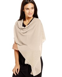 Styleandco. Style And Co. Scattered Stone Wrap Only At Macy's Champagne
