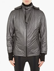 Y 3 Sport Black Padded Parka Jacket